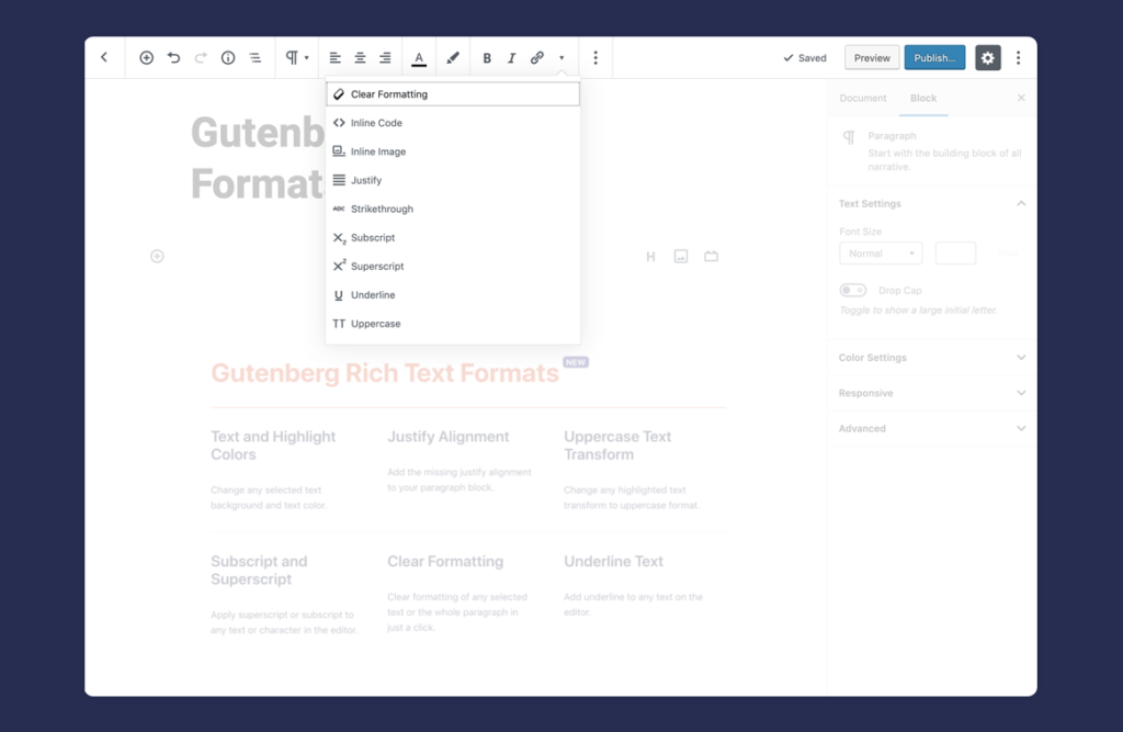EditorsKit - Page Building Toolkit for the Gutenberg Block Editor